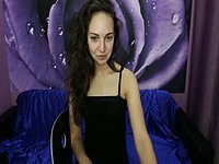 Beautiful European Girl Strips and Plays for Camera