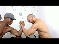 Muscle Models Arm Wrestling