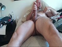 Mature Daddy Jerks and Squirts
