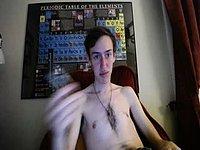 Ryan Yale's Trim and Orgasm Webcam Show