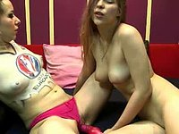 Candy Belle & Wild Kathy Private Webcam Show