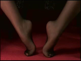 Feet, Pantyhose, Crossed Legs, Toe Tapping, Shoeplay