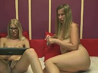 Aura Gold & Rebeca Wells Private Webcam Show