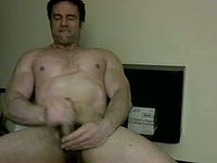 American Model Dino Plays with His Dick