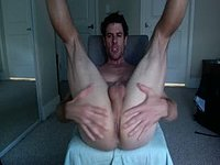 Mature Hunk Fingers Ass