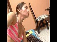 Emilia Suarez Big Boobs, Brunette