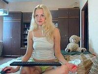 Selena Blonde Private Webcam Show
