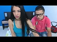 Shelena & Zack Private Webcam Show