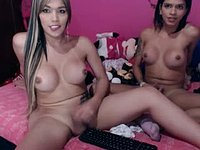 Xenna & Crystal Private Webcam Show