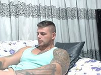 Uncut Muscle Hunk Strips and Jerks