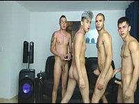 Crhistian & Dereckk & Allan & Nicky Private Webcam Show