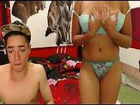 Santiago Arias & Karol Diaz Private Webcam Show