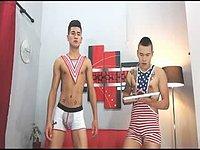 Andy Haloa & Loretto Safado Private Webcam Show