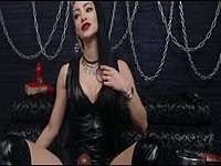 Dominatrix with a Strap on
