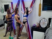 Saint Andrews Cross Torture