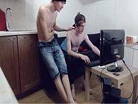 Nathon Young & Fin Morrison Private Webcam Show