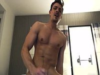 Carter Dane's Cumshot Hits the Camera