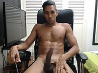 Tight Bodied Latino with a Real Hard Cock