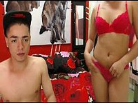 Santiago Arias & Mariana L Private Webcam Show
