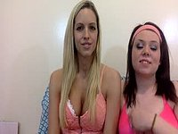 Brooke & Carly Logan First Private Webcam Show