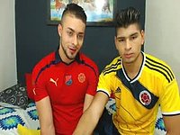 Anderson Alse & Percy Latino Private Webcam Show