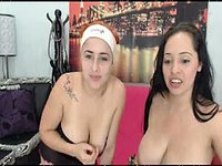 Carolina Lohan & Dahina Love Private Webcam Show