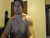 American Model Jay Webcam Shows Off His Body and Chats