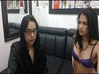 Two Latina Lesbians Eat Each Others Pussy