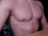 Almer Webcam Shows Off His Perfect Chest