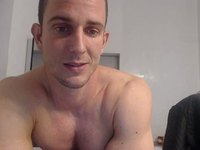 Euro Model Stefano Shows Off His Body