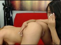 Colombian Lesbos in Hot Webcam Show
