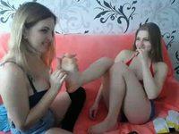 Olga Logers & Svetlana Kitty Private Webcam Show