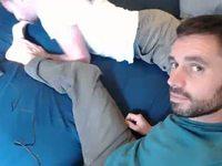 Evan Masters & Slave Luke Private Webcam Show