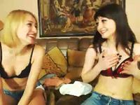 Darlene Shellton Joined by Blonde Girl