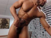 Armando Garcia Jerking and Webcam Showing Body