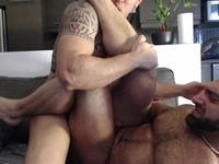 Joshua Ralph & Wolf M Private Webcam Show
