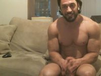 Devin Webcam Shows Off His God-like Muscular Body