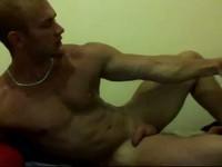 muscle show cum show