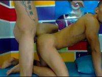 Jairo Genes & Janio Fer & Jeff Ven Private Webcam Show