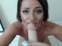 Milf Plays and Spreads Cute Pussy