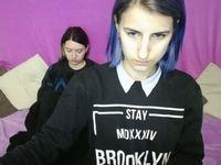 Laura Hana & Sasha Bon Private Webcam Show