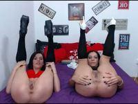 Mela Diamond & Lexy Diamond Private Webcam Show