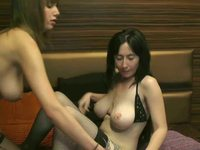 Vivien Wellis & Black Pegazus Private Webcam Show