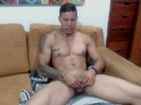 Jeremy Muscle Private Webcam Show - Part 2