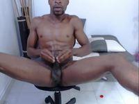 Black Dude Strokes It