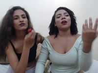 Mia & Alessia Private Webcam Show