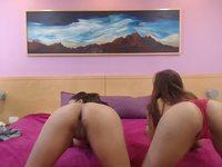 Mia & Alessia Private Webcam Show