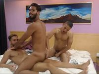 Hot Latinos Threesome