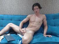 Shy Guy Webcam Shows His Cock