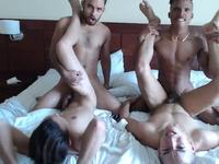 Bryan & Dave & Aaron & Andrew Private Webcam Show